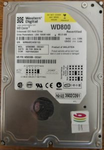 Recertified WD800BB