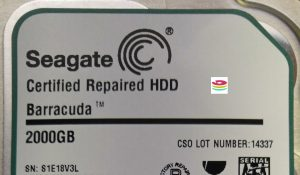 certified repair seagate