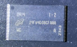 TSOP48 29F64G08CFAAA Memory Chip