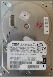 IBM Deskstar IC35L080AVVA07