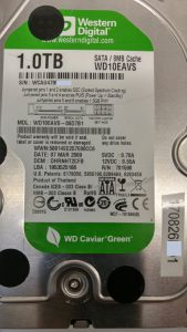 WD10EAVS Weak Head