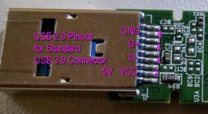 USB 3.0 Flash Connector