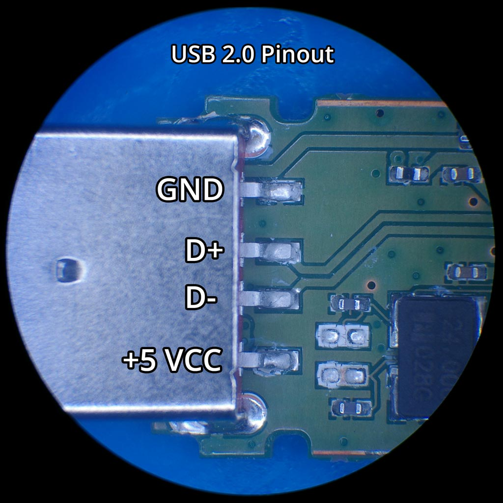USB Flash Device Connector PinoutBlizzard Data Recovery