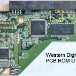 WD PCB ROM U12